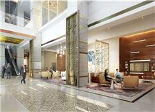 Hilton Norfolk The Main - Hotel lobby