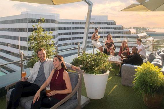 Grain Rooftop Lounge and Garden
