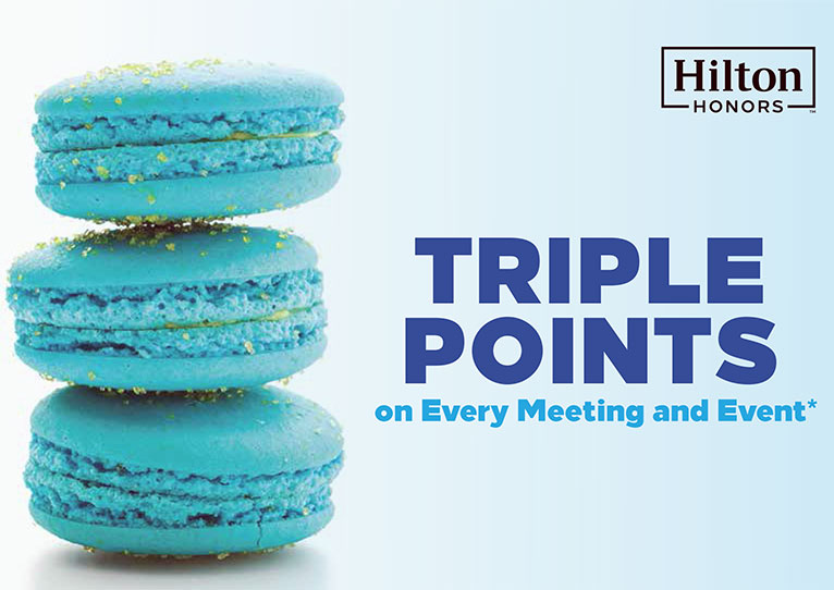 Hilton Norfolk The Main - Triple Points on Meetings and Events