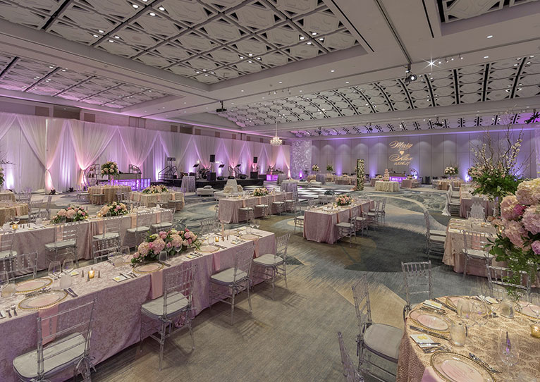 Stunning norfolk wedding venues hilton norfolk the main norfolk virginia wedding packages junglespirit Gallery